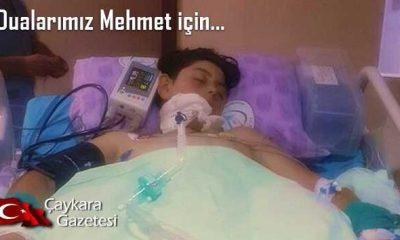 Duanın gücüne inanıyoruz… Mehmet için eller duaya!
