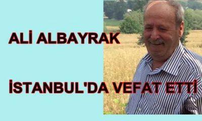 Ali Albayrak İstanbul'da vefet etti
