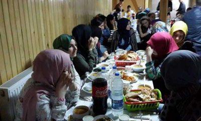 Çaykara Anadolu Lisesi Öğrencilerine İftar yemeği!
