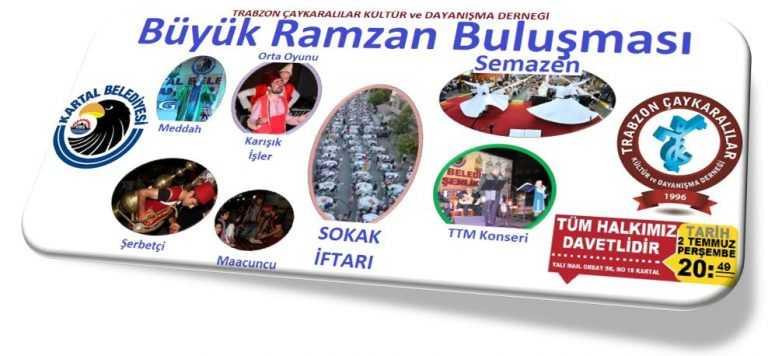 Çaykaralılar Derneğinden 'Büyük Ramazan Buluşması'