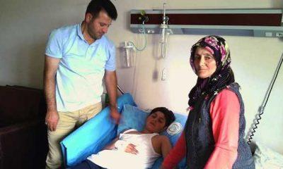 Bisiklet kazasında ağır yaralanan Mehmet iyiye gidiyor
