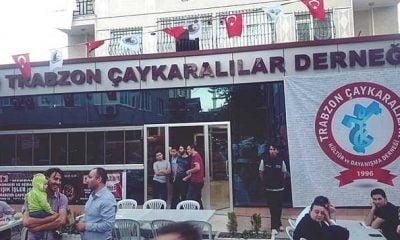 İstanbul'daki Çaykaralılar iftarda buluştu