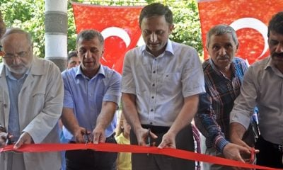 Y. Şahinkaya Camii İbadete açıldı