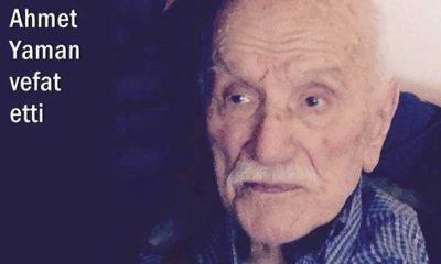 Ataköy'den Ahmet Yaman vefat etti