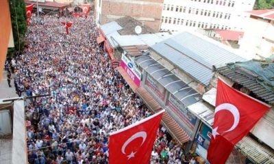 Çaykara tarihinin en kalabalık cenazesine kaç kişi katıldı?