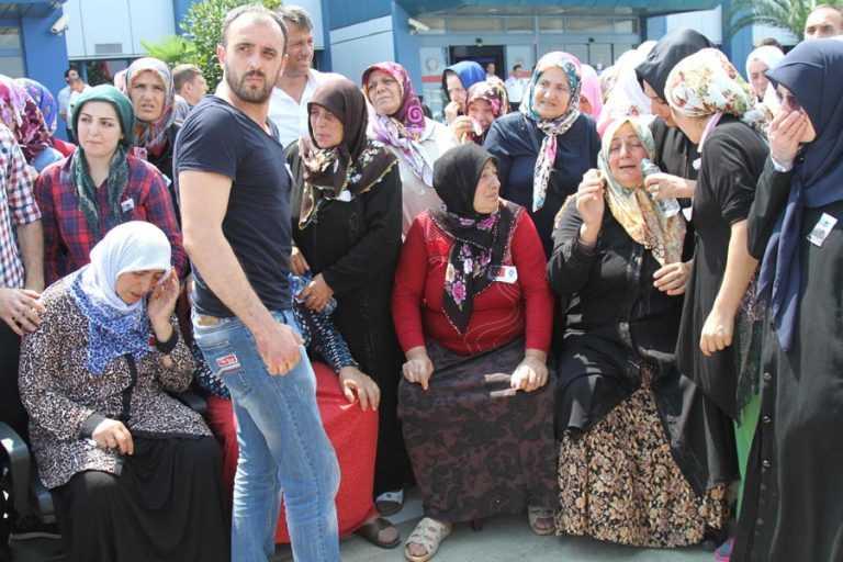 Şehit Ahmet Çamur'a Ağıtlı Karşılama 2