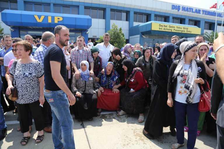 Şehit Ahmet Çamur'a Ağıtlı Karşılama 15