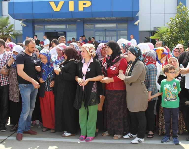 Şehit Ahmet Çamur'a Ağıtlı Karşılama 3