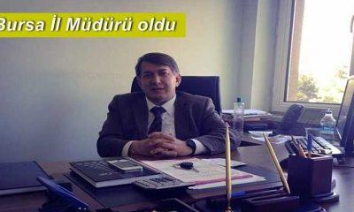 Hüseyin Uysal Bursa İl Müdürü olarak atandı