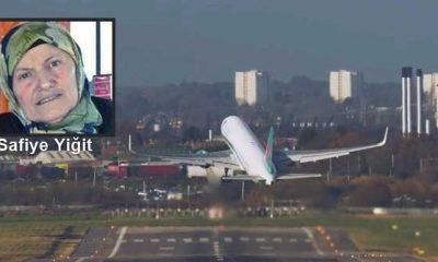 Antalya uçağında kalp krizi geçiren Safiye Yiğit vefat etti