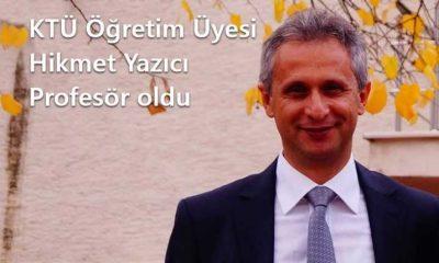 Çaykara Üniversitesinden bir profesör daha
