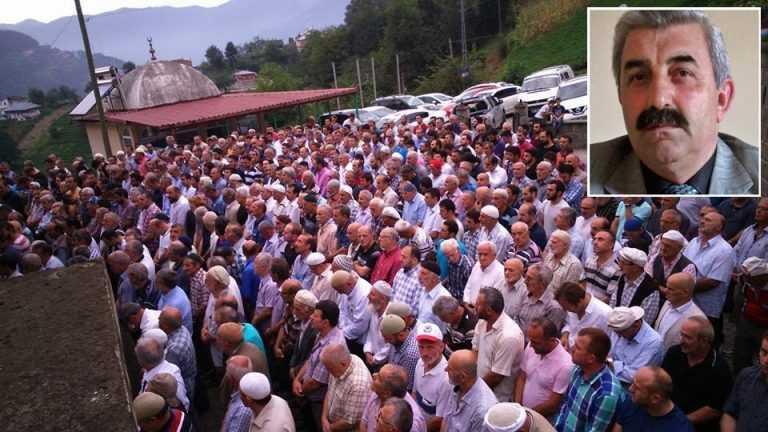 Mustafa Mercan Ulucami'de toprağa verildi