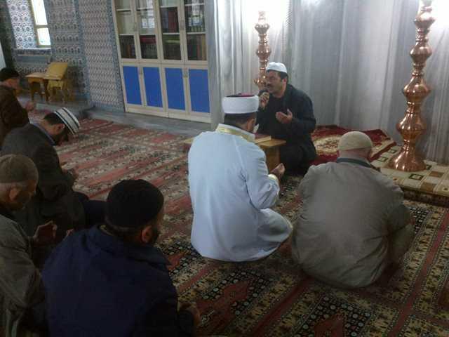 Eski Bakan Ali Rıza Uzuner için mevlit okutuldu 1