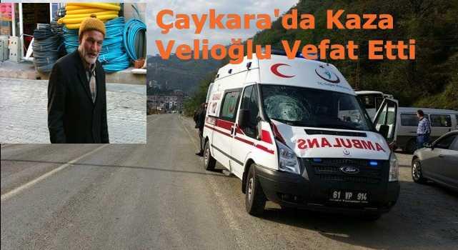 Ambulansın çarptığı Ali Velioğlu vefat etti