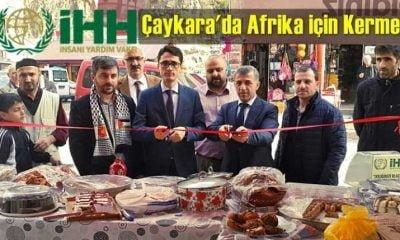 İHH'dan Çaykara'da Afrika için Kermes