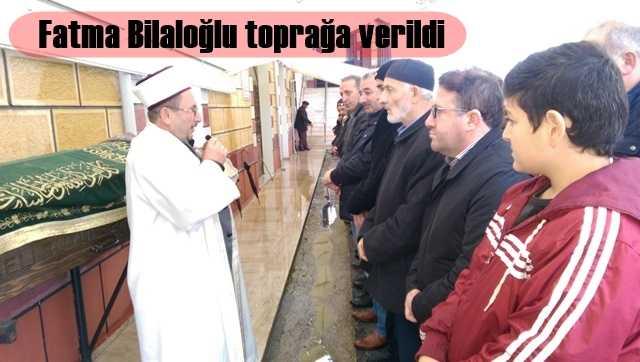 Fatma Bilaloğlu İzmit'te toprağa verildi 12