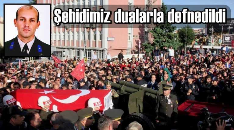 Şehit Samet Çakır Trabzon'da toprağa verildi