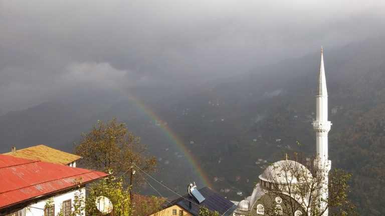 Çaykara'da yağmur ne zamana kadar devam edecek? 3