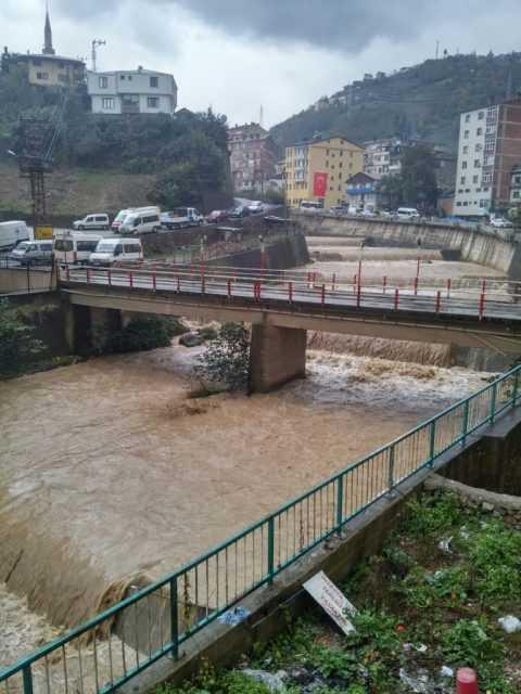 Çaykara'da yağmur ne zamana kadar devam edecek? 6