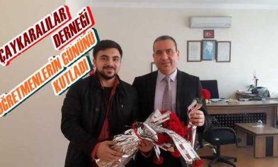 İstanbul Çaykaralılar Derneği Öğretmenlerin gününü kutladı