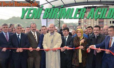 Of Devlet Hastanesi yeni birimleri törenle açıldı