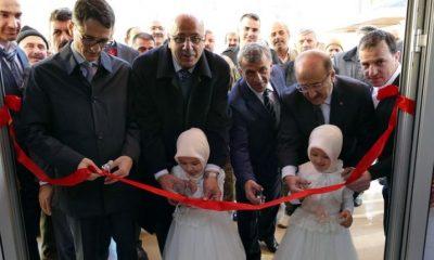 Fatma Yerekaban Kur'an Kursu ve Z Kütüphane açıldı