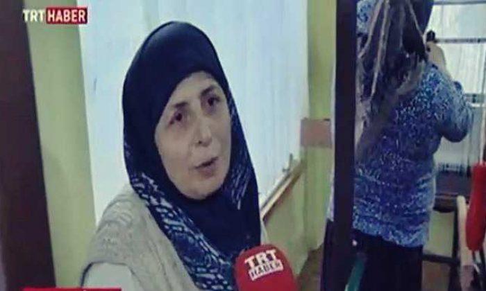 Çaykara'daki Forotiko kursu TRT Haber'de