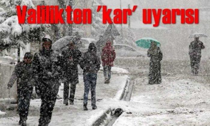 Trabzon Valiliği olumsuz hava koşullarına karşı uyardı