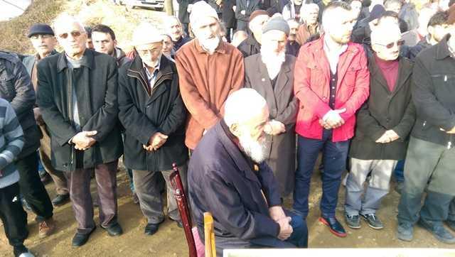 Muhammet Bektaş dualarla toprağa verildi 12
