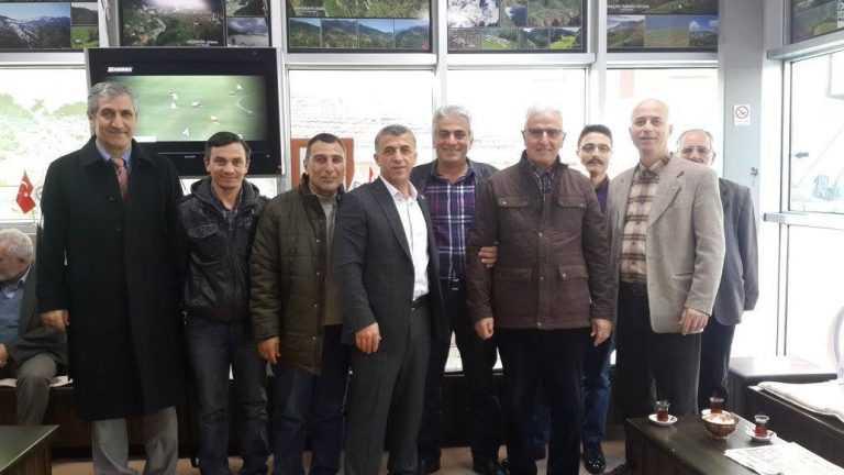 Başkan Tok İstanbul'da Çaykaralılarla buluştu 5