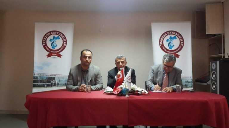 Başkan Tok İstanbul'da Çaykaralılarla buluştu 6