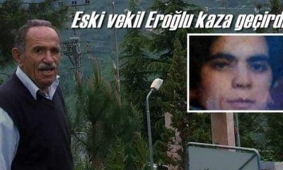 Eski milletvekili Zeki Eroğlu Yomra'da kaza yaptı