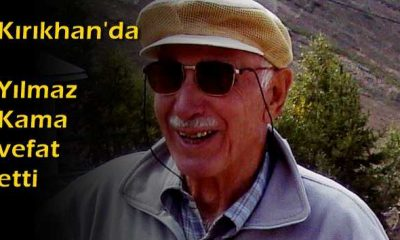 Kırıkhan'da Yılmaz Kama vefat etti