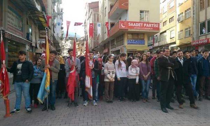 Çaykara'nın düşman işgalinden kurtuluşunun 98. yıldönümü törenlerle kutlandı