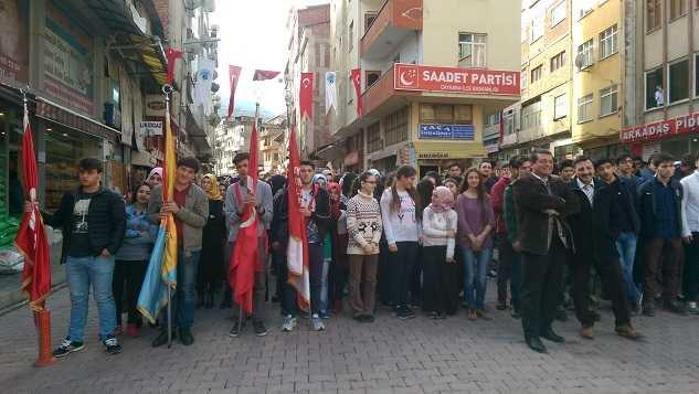 Çaykara'nın düşman işgalinden kurtuluşunun 98. yıldönümü törenlerle kutlandı 2