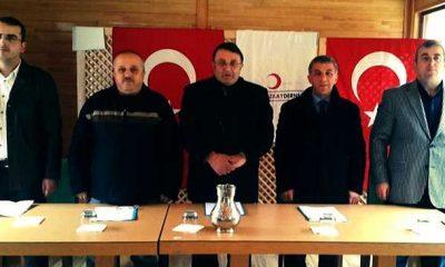 Kızılay Çaykara Şubesi olağan kongresi yapıldı