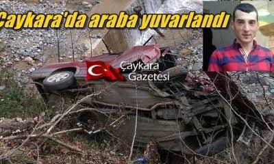 Çaykara'da Kaza: Mahmut Yıldırım uçuruma yuvarlandı