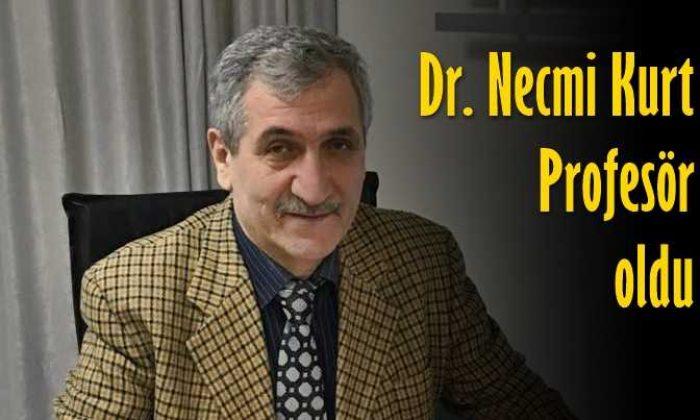 Çaykaralı Dr. Necmi Kurt Profesör oldu