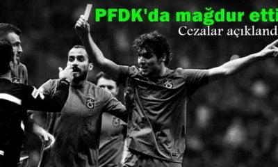 PFDK olaylı maç sonrası cezaları açıkladı