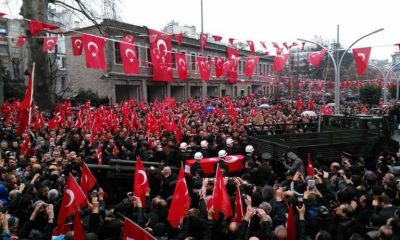 Trabzon Şehidini Ebediyete Uğurladı