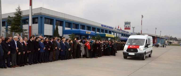 Trabzon Şehidini Ebediyete Uğurladı 4