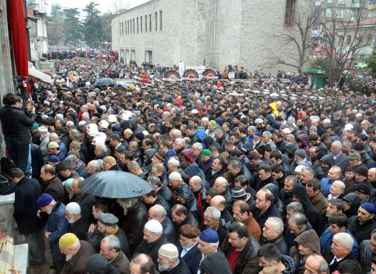 Trabzon Şehidini Ebediyete Uğurladı 9