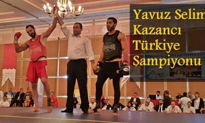 Yavuz Selim Kazancı Wushu'da Türkiye Şampiyonu