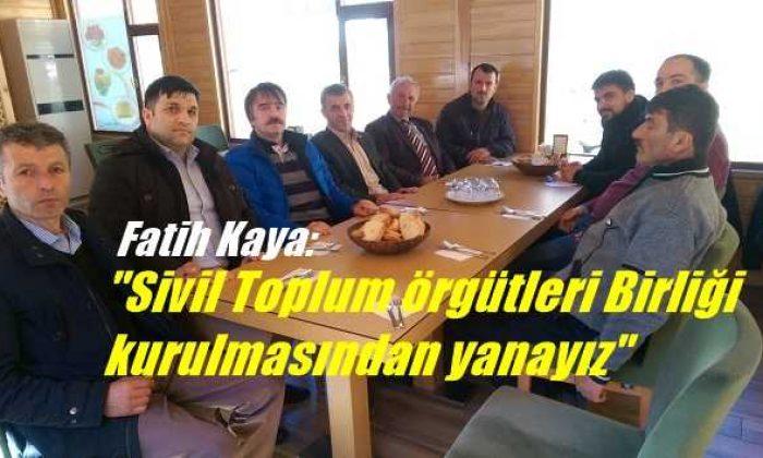 İstanbul Kartal Trabzon Çaykara'lılar Derneğinden birlik atağı