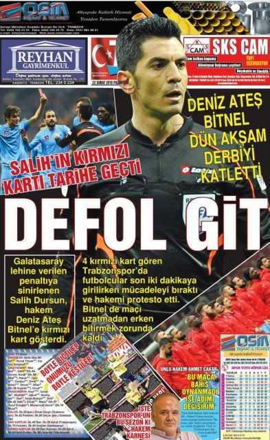 Trabzonspor'un Ölüm İlanı! 3