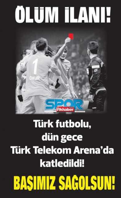 Trabzonspor'un Ölüm İlanı! 2