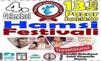 Çaykara Derneğinden Hamsi Festivali