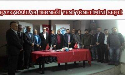 İstanbul Çaykaralılar Derneği yeni yönetimini seçti