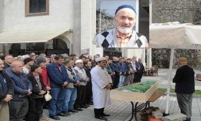 Taşkıran'dan Hasan Hüseyin Akyüz son yolculuğuna uğurlandı