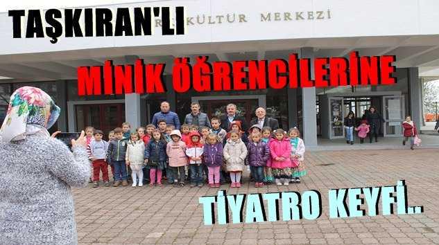 Taşkıran'lı Minik Öğrencilere Tiyatro Keyfi.. 18